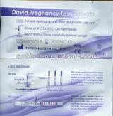 DAVID pregnancy test strip FDA approved