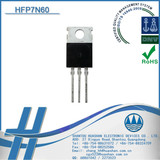 * HFP7N60 professional power mosfet transistor NPN used for high speed switching adapter can replace SSP7N60B TO-220