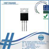 H BTA8A60 Insulated Type TRIAC 8A 600V scr silicon controlled rectifier for lighting control TO-220