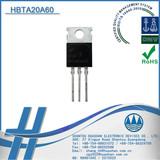 H BTA20A60 Insulated Type TRIAC 20A 600V SCR Thyristor suitable for lighting control TO-220