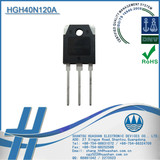 HGH40N120A IGBT Transistor Low Saturation Voltage N-Channel IGBT 1200V 40A TO-3P Power Electronics Igbt