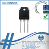 HGH20N120A IGBT Transistor Low Saturation Voltage N-Channel IGBT 1200V 20A TO-3P Power Electronics Igbt