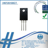 HKF20100CT 100V 20A Diodes Schottky TO-220 ISOLATION schottky barrier diode Rectifiers