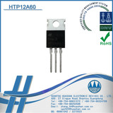 HTP12A60 TO-220 Package 12A 600V Triac Thyristor Suitable For lighting control, and static switching relay