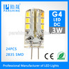 3W 2700K warm white home decorative lights G4 led bulb 220V 3W Lamp