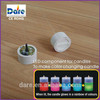 Light sensor passive component for led color changing candle light