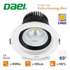 Daei Brand COB LED downlight 30W ceiling lights high bright LED downlight pass CE and RoHS