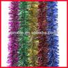 Tinsel christmas garland tinsel flower garland PVC/PET