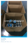 dual wheel caster, double Wheel Central Locking caster,plastic double wheel casters, hospital trolley wheel caster