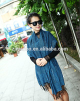wholesale jacquard women's scarf cheap thick winter long scarf/shawl