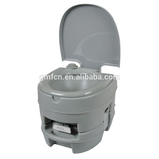 2014 Hot selling 10L12L 20Lwestern disabled flush hospital marine mobile wc camping outdoor portable toilet with trailer