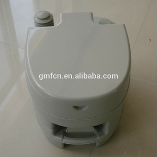 2014 Hot selling 10L12L 20Lwestern disabled flush hospital marine mobile wc camping outdoor portable toilet chemicals