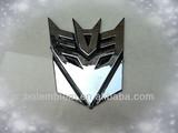 New Transformers car badge emblem front