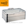chafing dish full size induction chafing dish