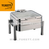 stackable design chafing dish induction chafing dish rectangle chafing dish