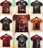 new 2014 autumn -summer slim fit novelty 3d casual men t-shirts fashion short sleeve anime funny big size XXL man t shirt