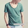 cheap cotton blank 2014 man t-shirts for wholesale