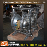 QBY Stainless Steel Air Diaphragm Pump for Food& Chemical, Chemical Resistant Diaphragm Pump