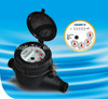 Dry dial External Regulation Plastic Water Meter