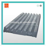 mn13cr2 jaw plate steel plate fixed plate crusher high manganses