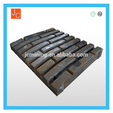 jaw plate stone crusher high manganese jaw plate in jinhua
