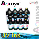 Aomya LED UV ink for Epson DX5/6/7, printing for hard & soft material UV ink