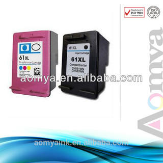 Remanufacture ink cartridge for HP61(CH561WN) for Deskjet 1000 series printers