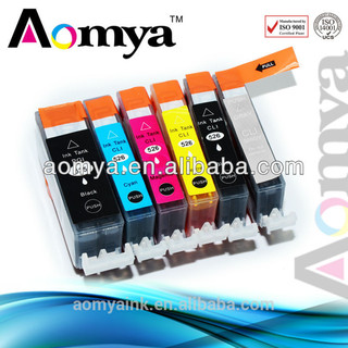 With auto reset chip PGI-525 CLI-526 refill Ink cartridge for canon printers
