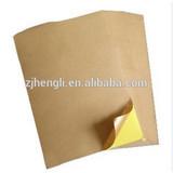 Self Adhesive Kraft Paper Sticker