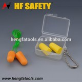 CE EN352-2 PU material soft and disposable earplugs