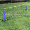 Hot Sale Mini Portable Tennis Net, Steel poles tennis pole with net