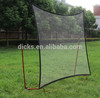 Portable folding soccer goal tennis rebound net for multi sport training