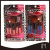 5 pcs professtional cosmetics brushes sets/fashion colorful foundation make up brush with blister card packing