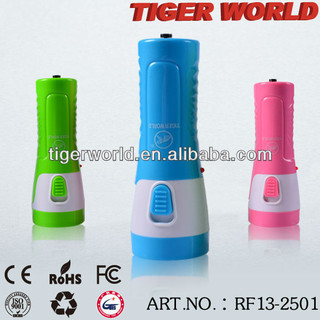 LED flashlights rechargeable torches made in China