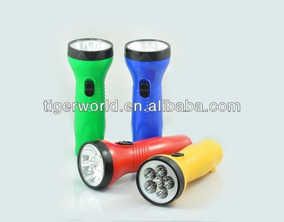 China Famous Flashlight LED RECHARGEABLE TORCH