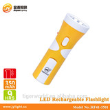 new product 2014 led flashlight rechargeable RF41-3501