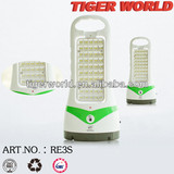 2014 Latest Design Rechargeable LED Home Portable Emergency Light WITH 50 SMD CHARGING LIGHT
