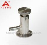 Sanitary clamp sampling valve
