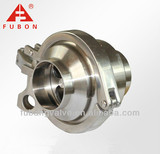 Sanitary stainless steel welded check valve