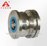 Sanitary stainless steel Flange wafer check valve