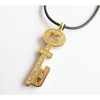 new design gold key pendant charms