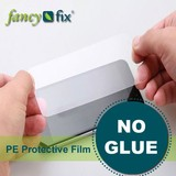 clear plastic protection film adhesive protective film