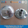 sanitary ss316L tri clamp end cap with female and male NPT fitting
