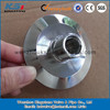 sanitary ss316L blank cap with female and male NPT fitting