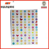 Ring binder with printing