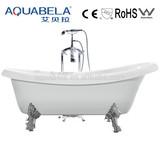 Antique acrylic bathtub with 4 legs