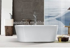 White Acrylic Freestanding Bath tub