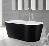 Oval Freestanding Acrylic Bathtub