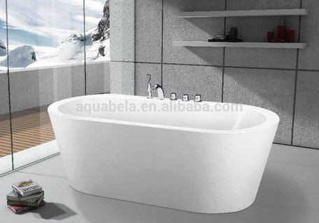 67'' Acrylic Freestanding Oval Bathtub