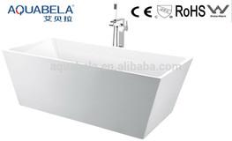square freestanding seamless bathtubs
